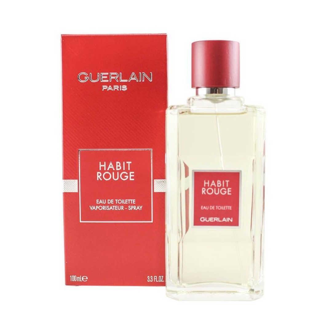 Guerlain Habit Rouge For Men Eau De Toilette 100ML