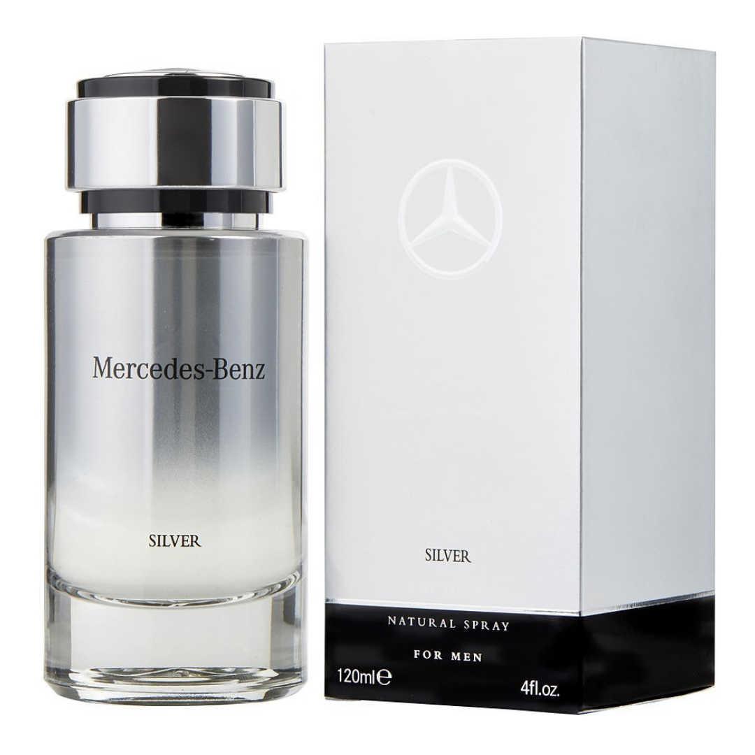 Mercedes Benz Silver For Men Eau De Toilette 120ML