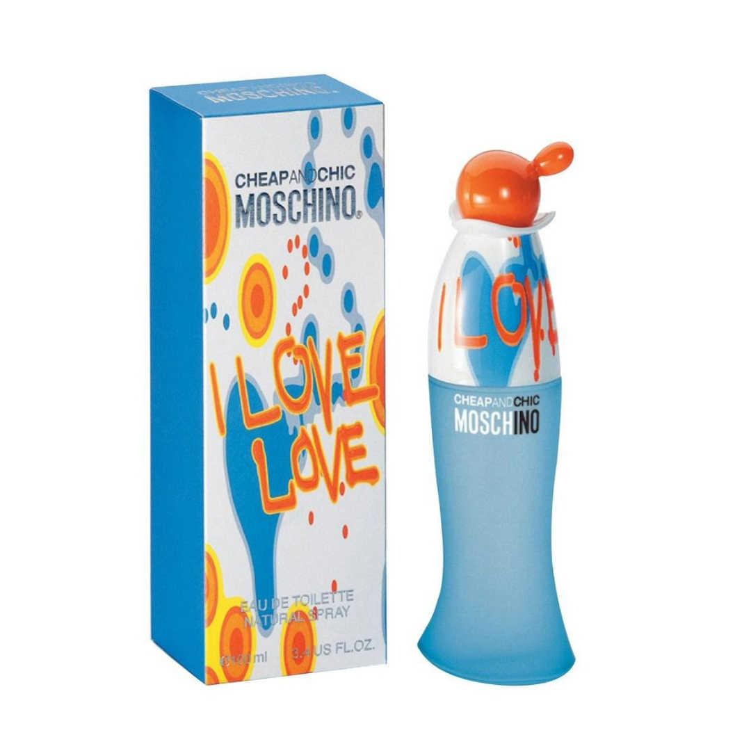 Moschino I Love Love For Women Eau De Toilette 100ML