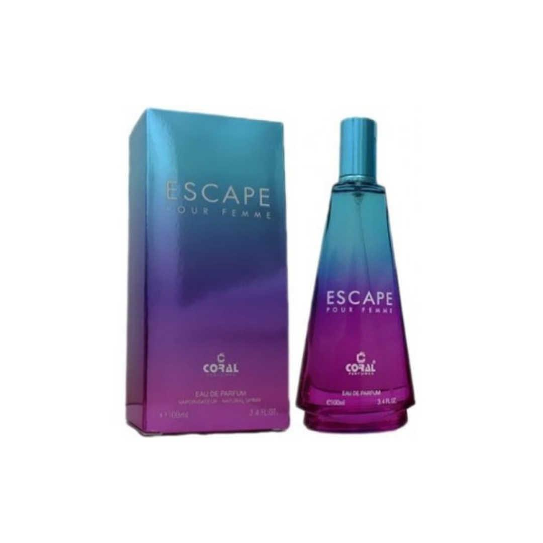 Coral Escape Pour Femme For Women Eau De Parfum 100ML