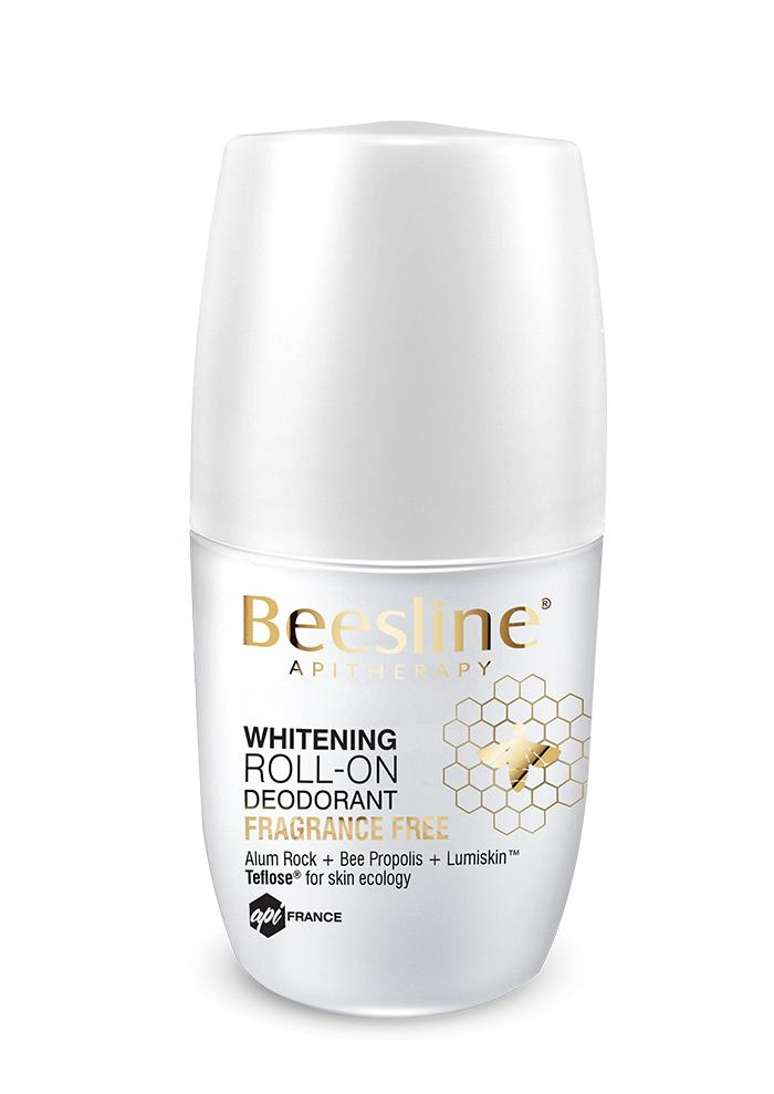 Beesline Whitening Roll-On Deodorant - Frag Free 50ml