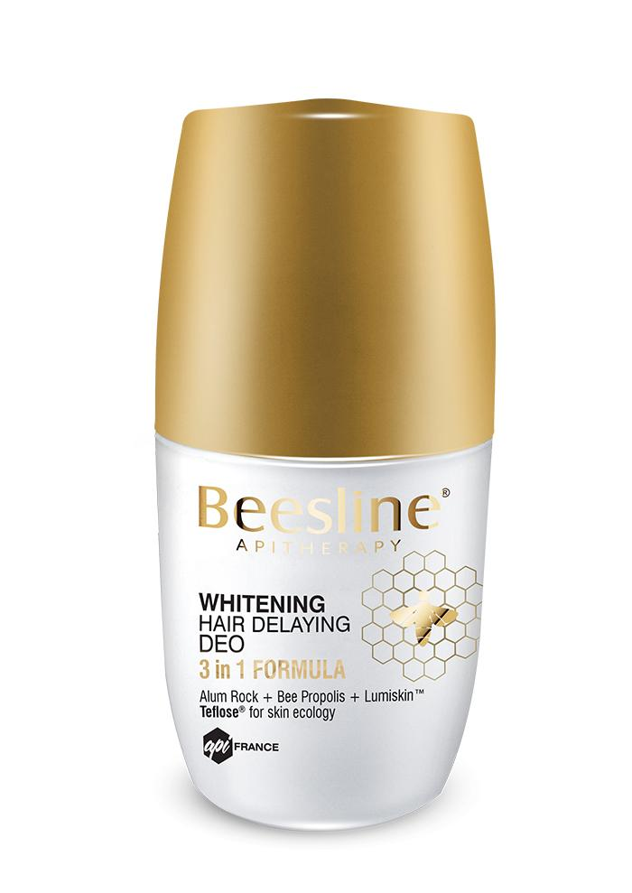 Beesline Whitening Roll-On Hair Delaying Deodorant 50ml
