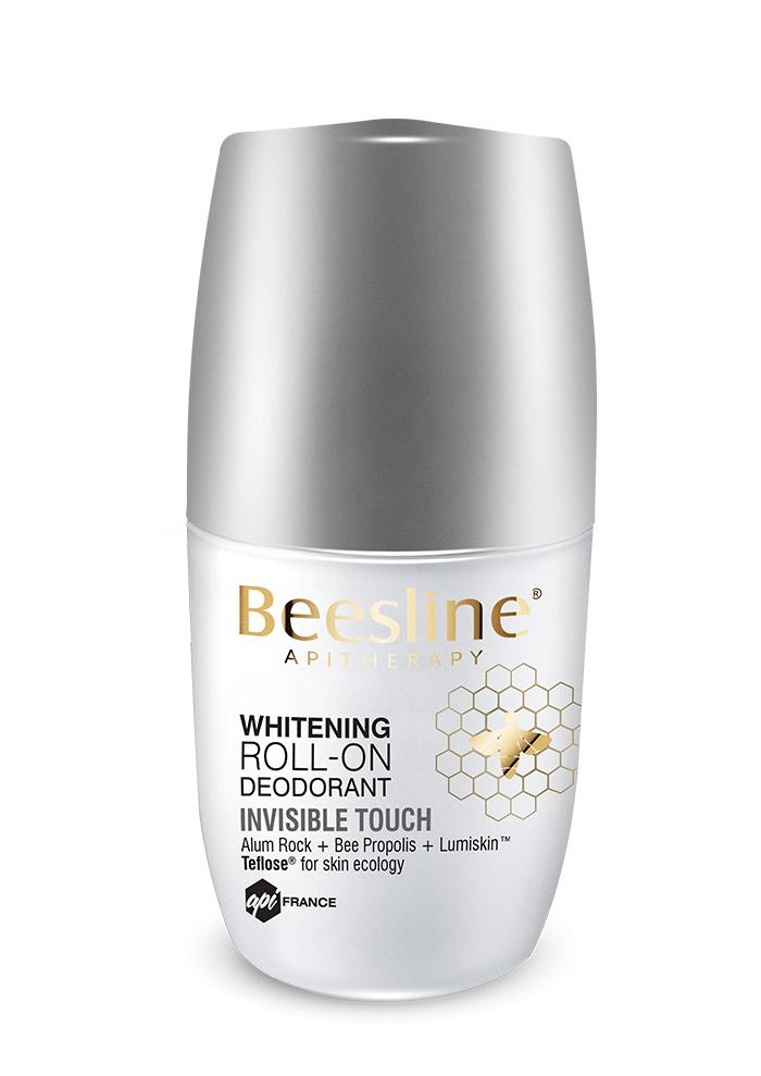 Beesline Whitening Roll-On Deodorant - invisible touch 50ml
