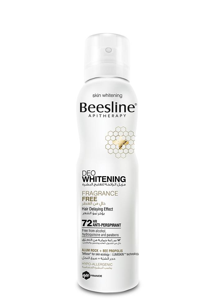 Beesline Deo Whitening - Fragrance Free 150ml