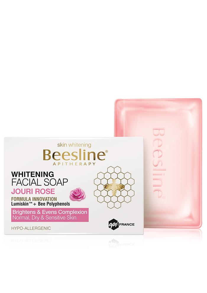 Beesline Whitening Facial Soap 85G - Joure Rose