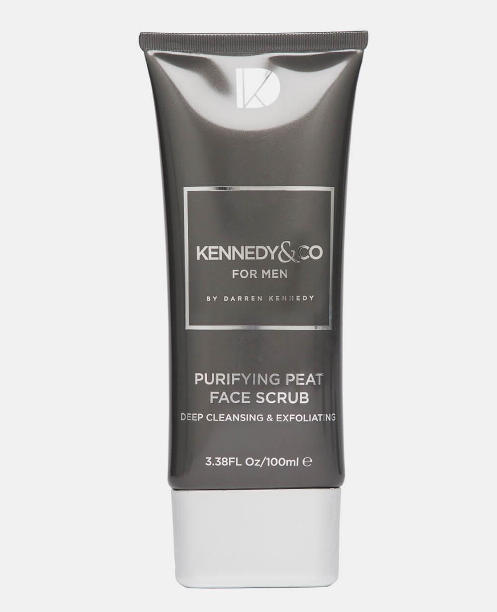 Kennedy & Co Purifying Peat Face Scrub 100ml