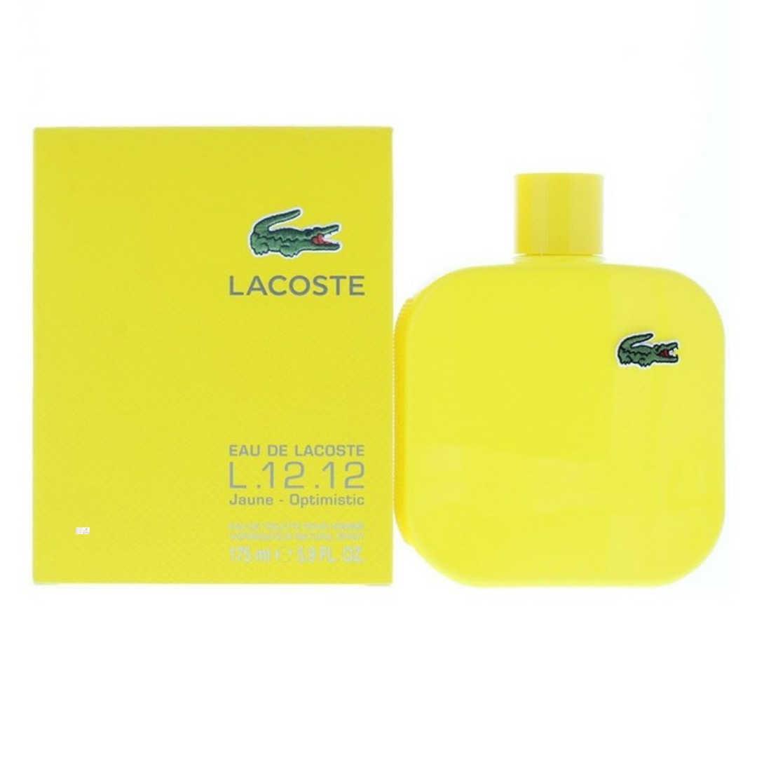 Lacoste L.12.12 Jaune-Optimistic For Men Eau De Toilette 175ML