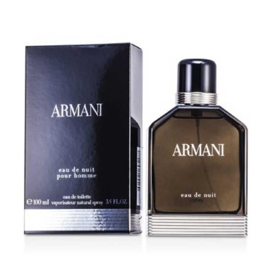 Armani Eau De Nuit For Men Eau De Toilette