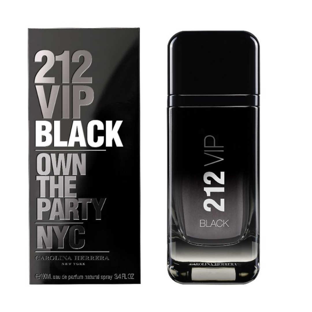 Carolina Herrera 212 VIP Black Men Eau De Parfum