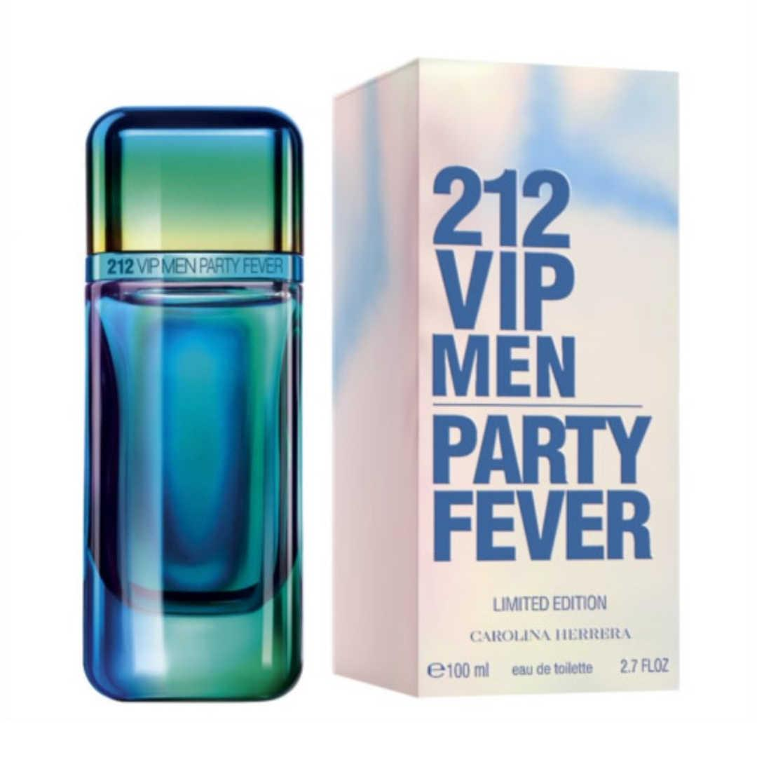 Carolina Herrera 212 Vip Party Fever Limited Edition For Men Eau De Toilette 100ML