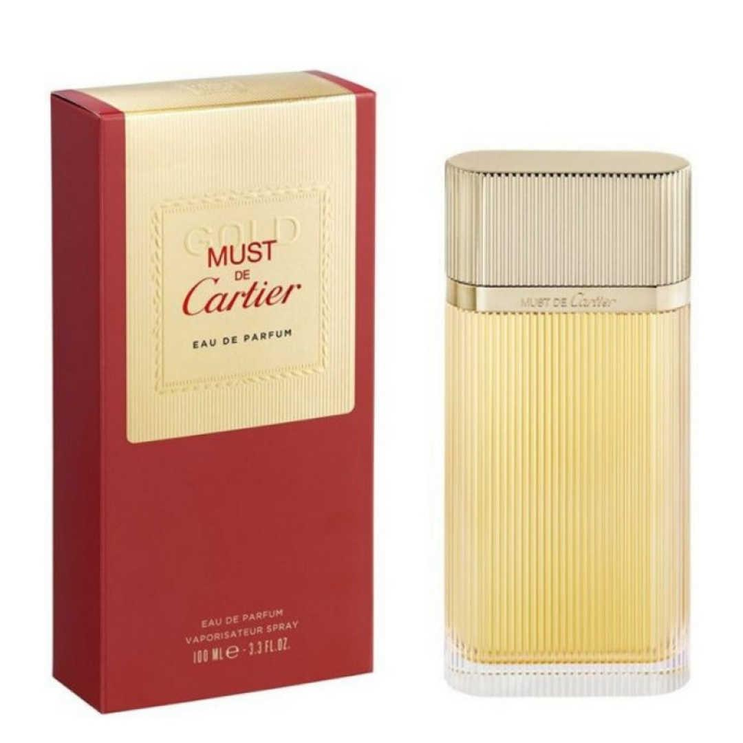 Cartier Must De Gold For Women Eau De Parfum 100ML