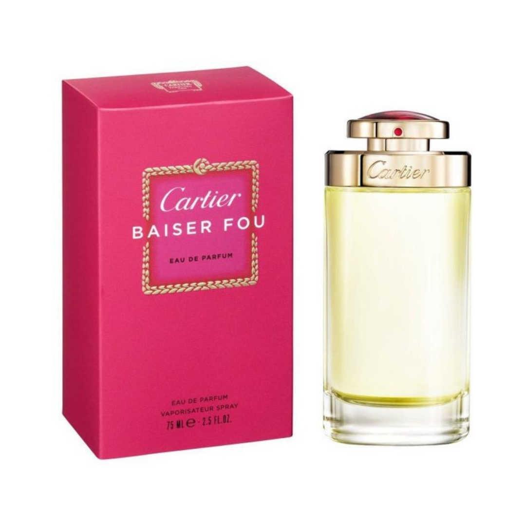 Cartier Baiser Fou For Women Eau De Parfum 75ML