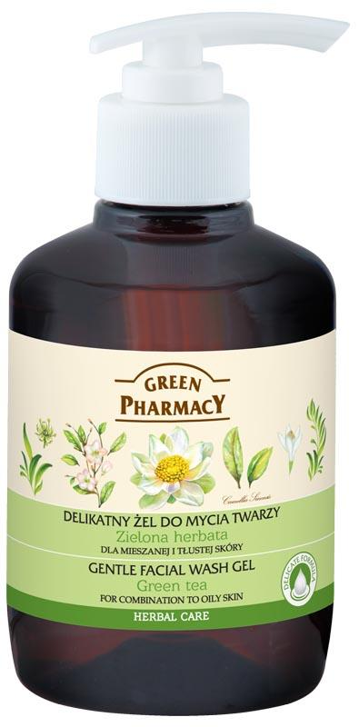 Green Pharmacy Gentle Facial Wash Gel 150 ml