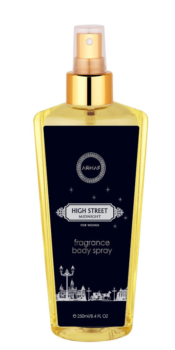 Armaf High Street Midnight Body Splash Women 250Ml