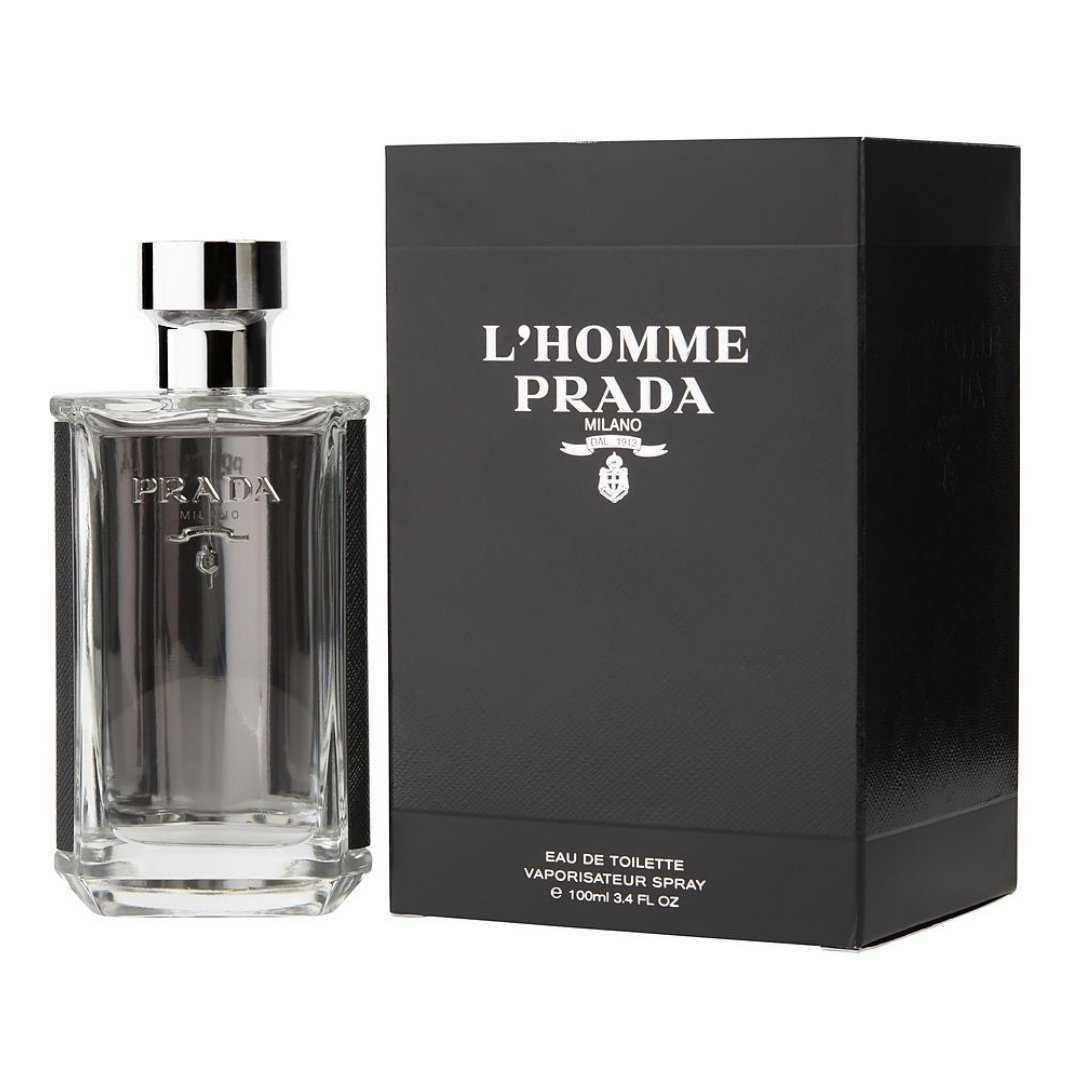 Prada L,Homme For Men Eau De Toilette 100ML