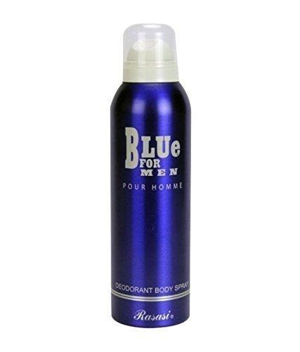 Rasasi Blue For Men Deodorant Spray For Men 200ml