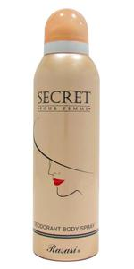 Rasasi Secret Deodorant Spray For Women 200ml