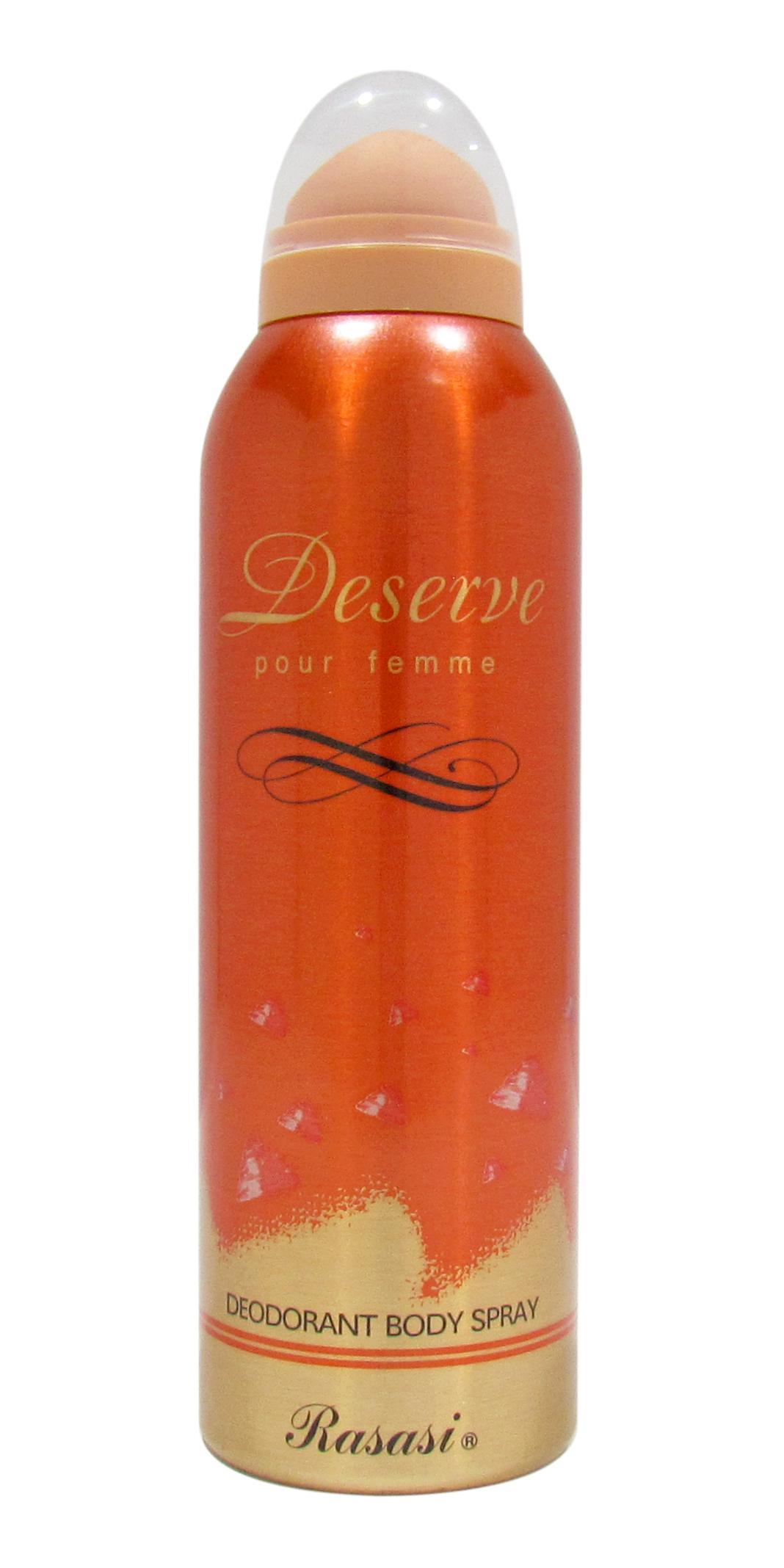 Rasasi Deserve Women Deodorant Spray For Women 200ml