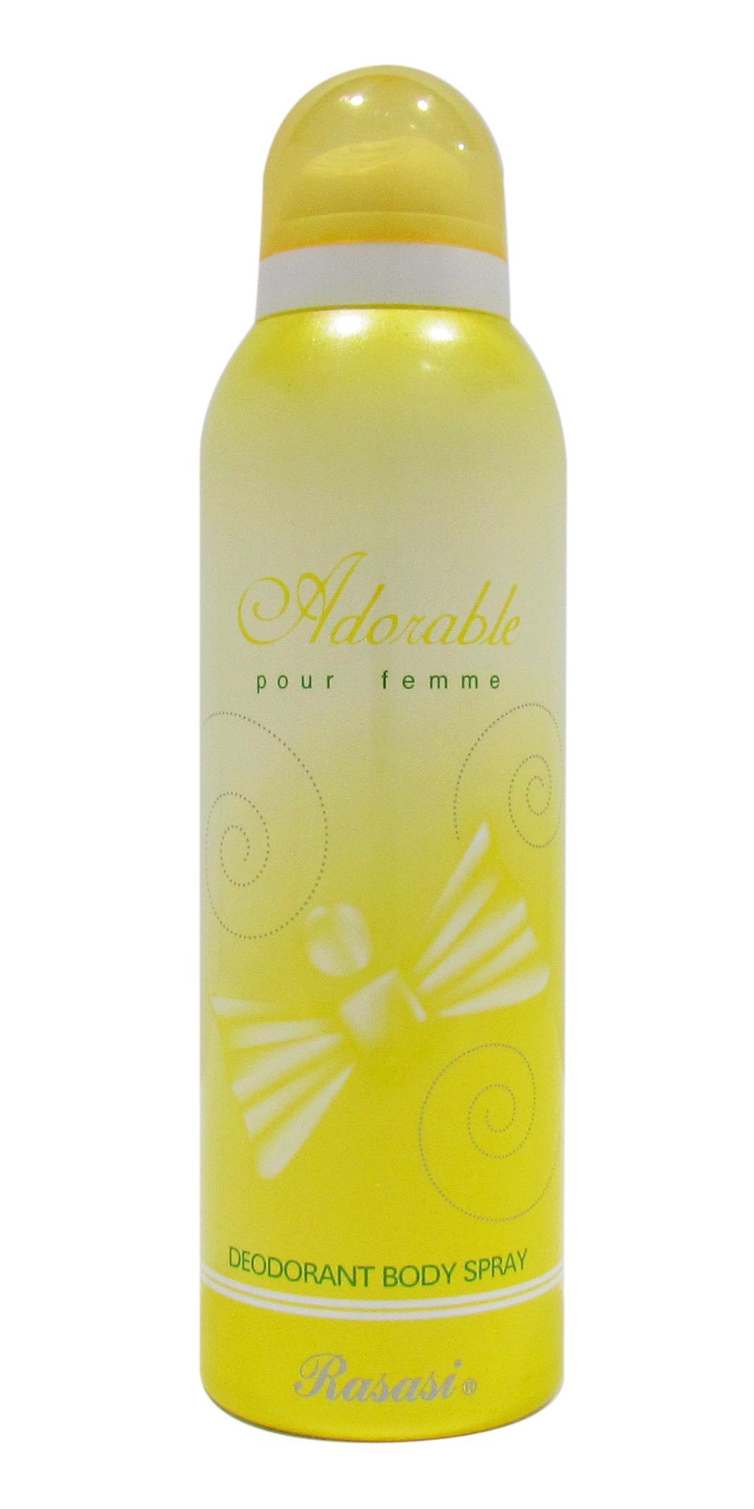 Rasasi Adorable Deodorant Spray For Women 200ml