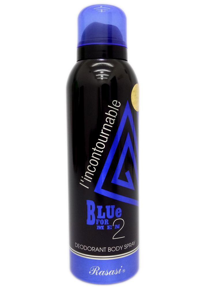 Rasasi Blue For Men 2 Deodorant Spray For Men 200ml