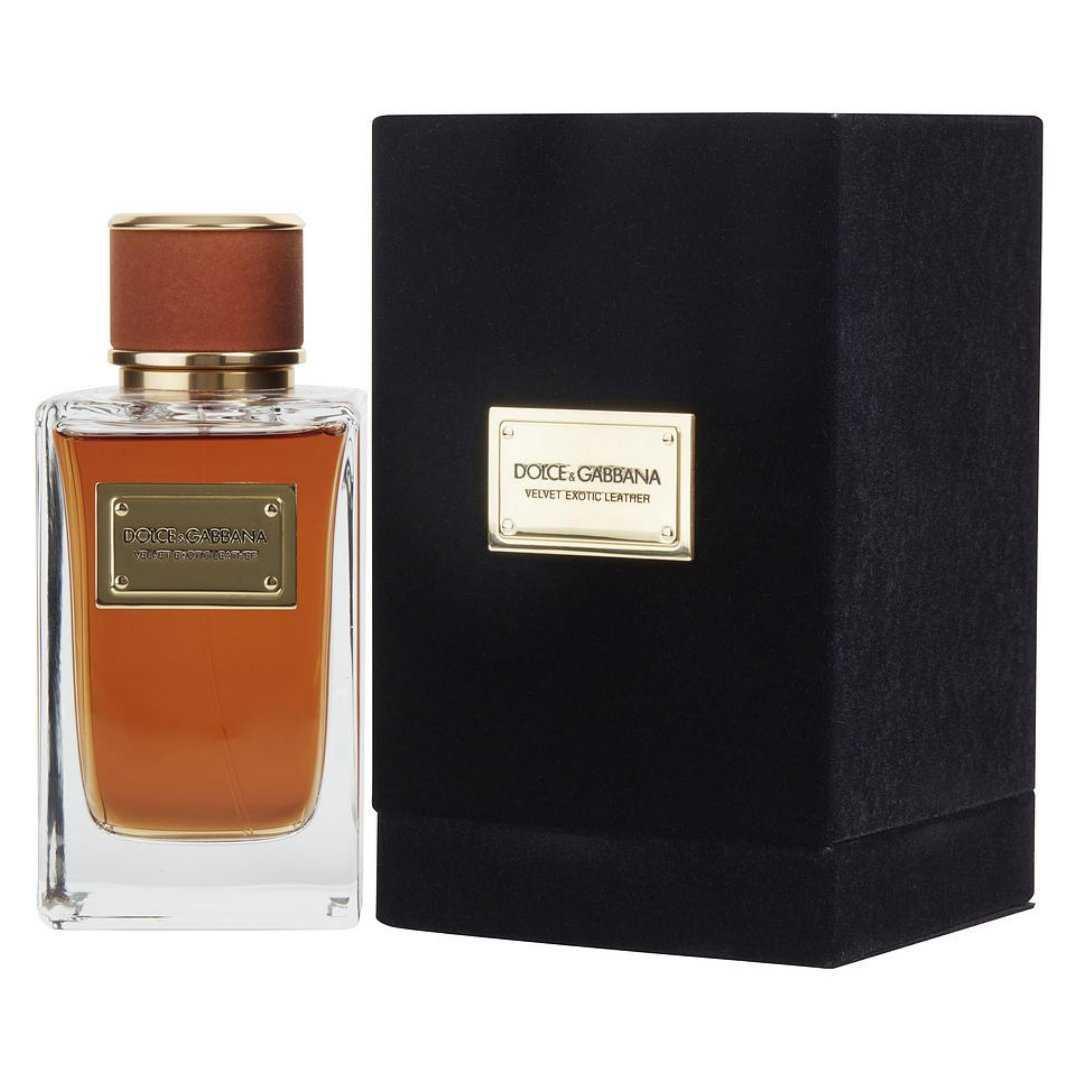 Dolce &Gabbana Velvet Exotic Leather