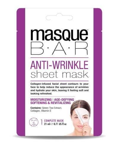 Masque Bar Anti Wrinkle Sheet Mask 21ml X 3 Pcs