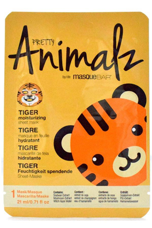 Masque Bar Pretty Animalz Tiger Moisturizing Sheet Mask 21ml