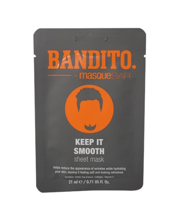 Masque Bar Bandito Keep It Smooth Sheet Mask 21ml