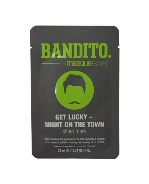 Masque Bar Bandito Get Lucky Night On The Town Sheet Mask 21ml