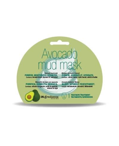 Masque Bar In.Gredients Avocado Mud Mask