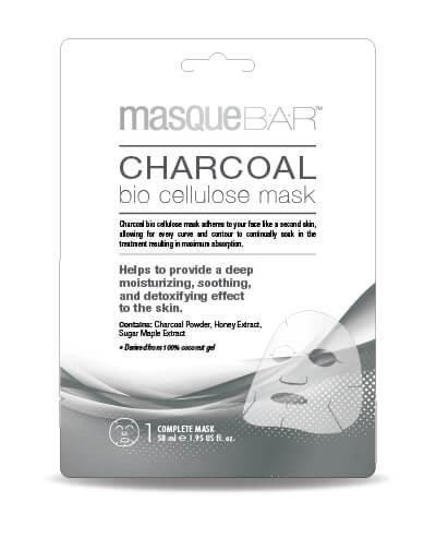 Masque Bar Charcoal Bio Cellulose Mask 58ml