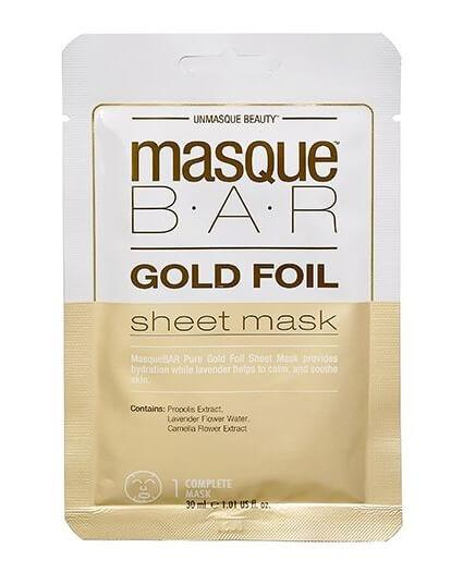 Masque Bar Gold Foil Sheet Mask 30ml