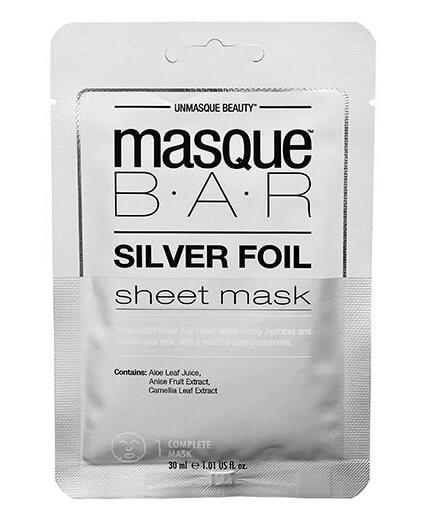 Masque Bar Silver Foil Sheet Mask 30ml
