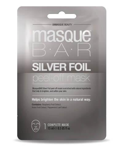 Masque Bar Silver Foil Peel Off Mask Sachet 12ml