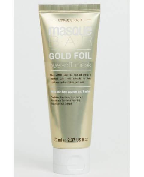 Masque Bar Gold Foil Peel Off Mask Tube 70ml
