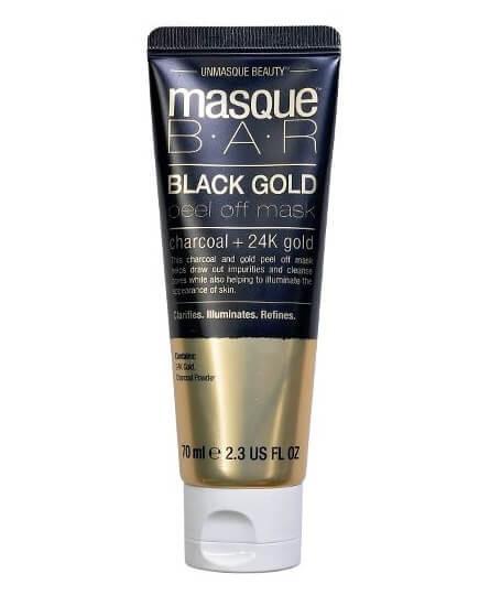 Masque Bar Black Gold Peel Off Mask Tube 70ml