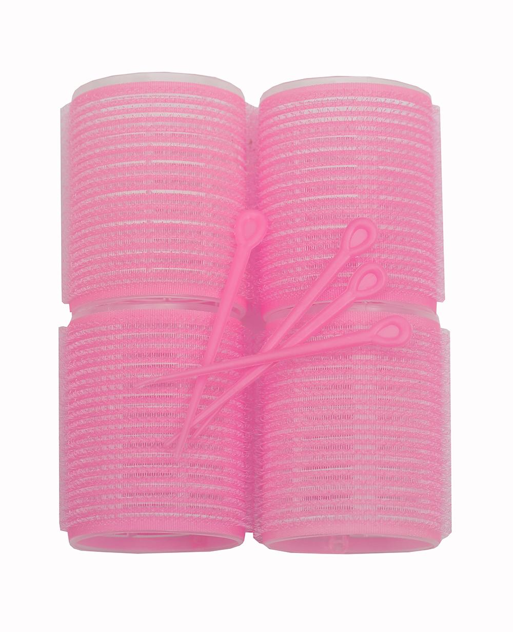 Xcluzive 4 Large Velcro Rollers + 4Pins