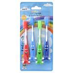 Enfresh Kid's Special Toothbrushes 4pk w/Cap