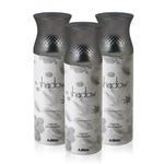 Ajmal Perfumes Shadow II Deodorant For Men 3 In 1 Pack 200ml