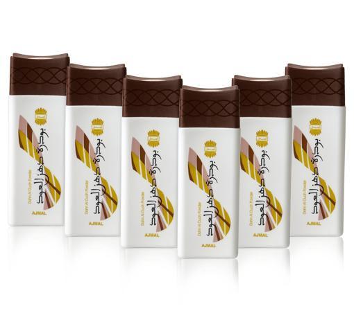 Ajmal Perfumes Dahn Al Oudh Powder Pack Of 6 200ml