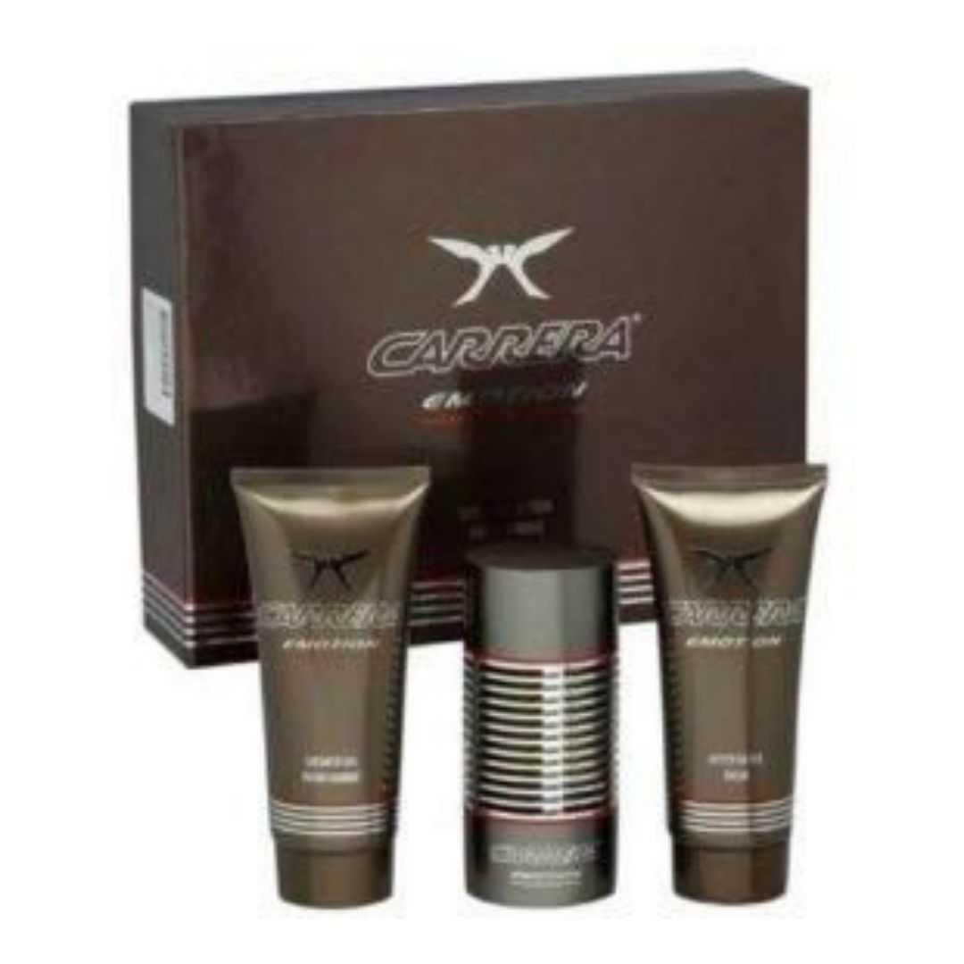 Carrera Emotion Pour Homme For Men Eau De Toilette 100ML Set