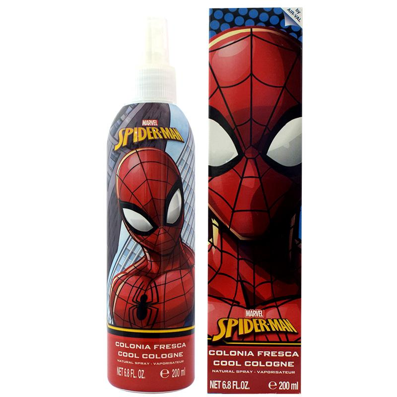 Air Val Marvel Spider-Man Cool Cologne 200ML Boxed