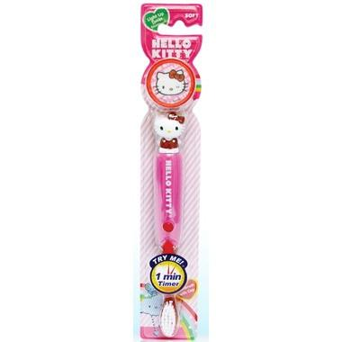 Firefly Hello Kitty Light Up Timer Tooth Brush