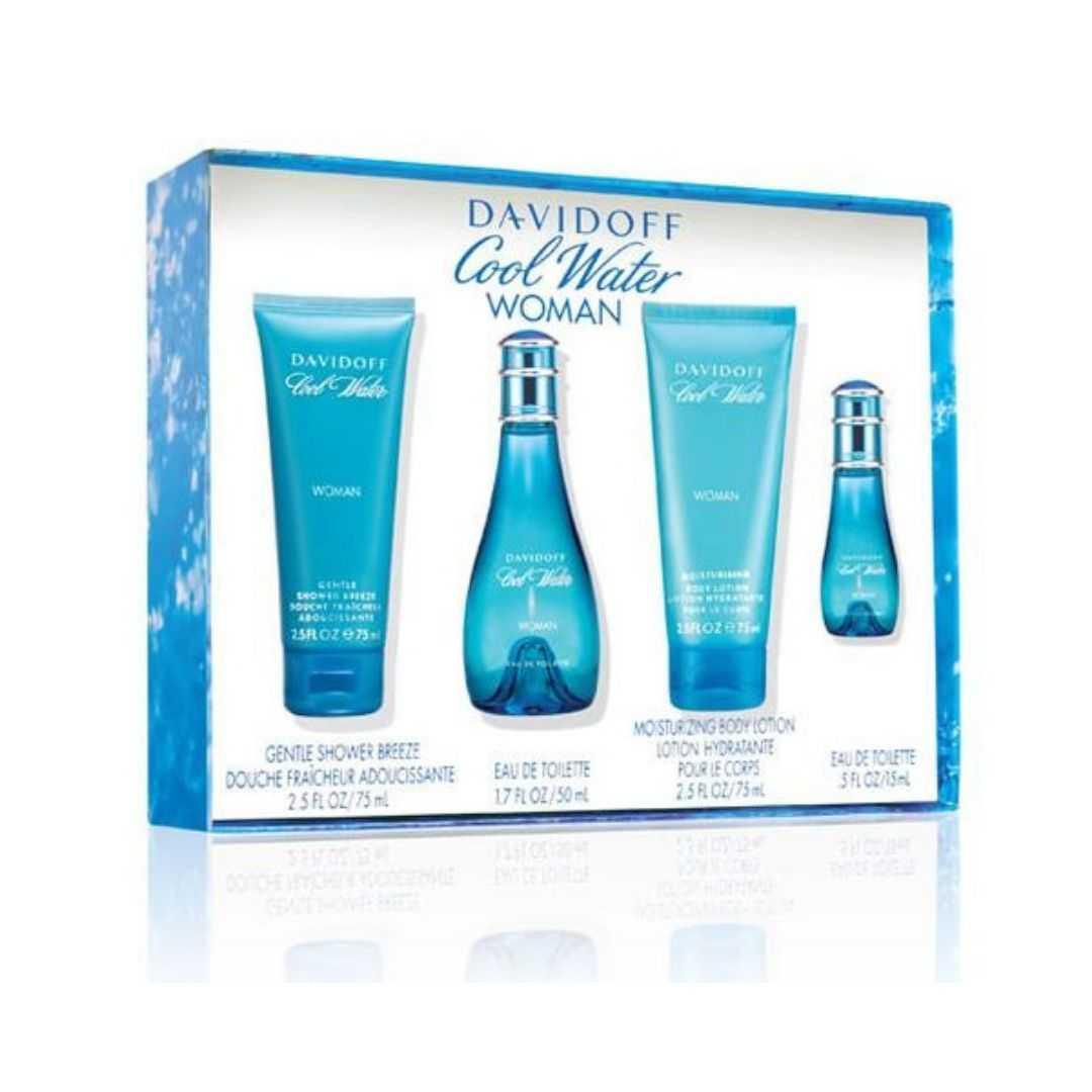 Davidoff Cool Water For Women Eau De Toilette 50ML Set