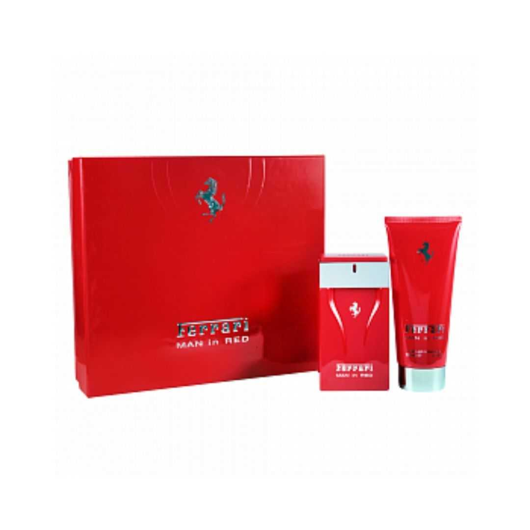 Ferrari Man In Red For Men Eau De Toilette 100ML Set