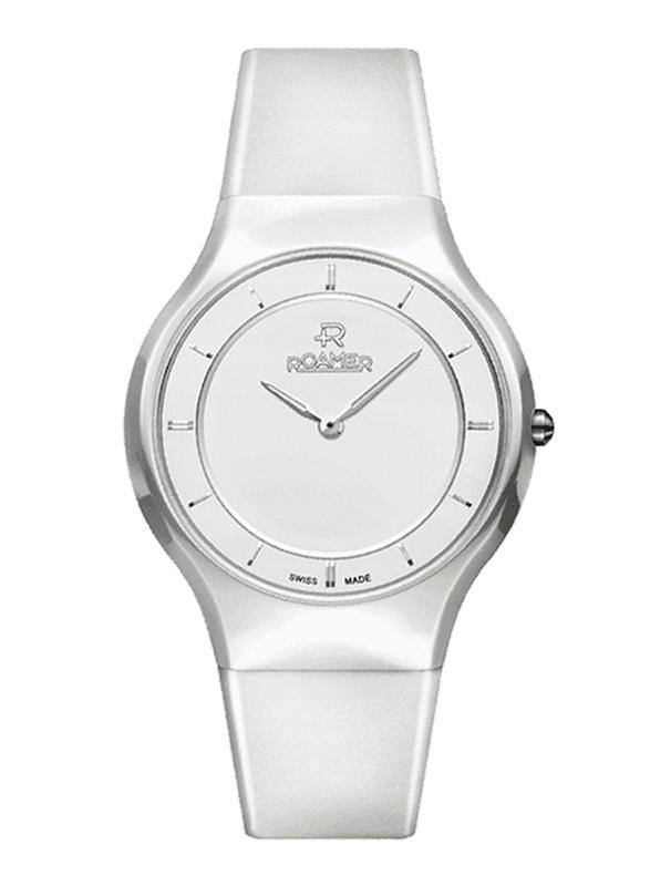 Roamer Ceraline Passion with White Dial Women's Watch 683830 41 25 06