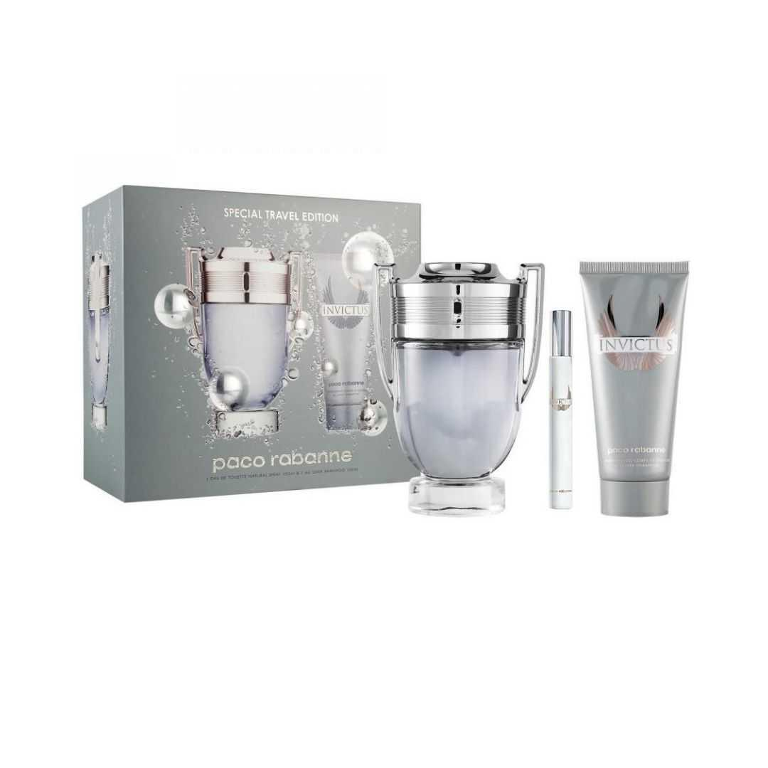 Paco Rabanne Invictus For Men Eau De Toilette 100ML Set
