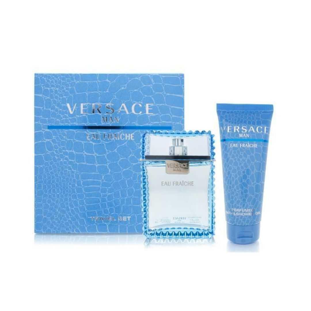 Versace Eau Fraiche For Men Eau De Toilette 100ML Set