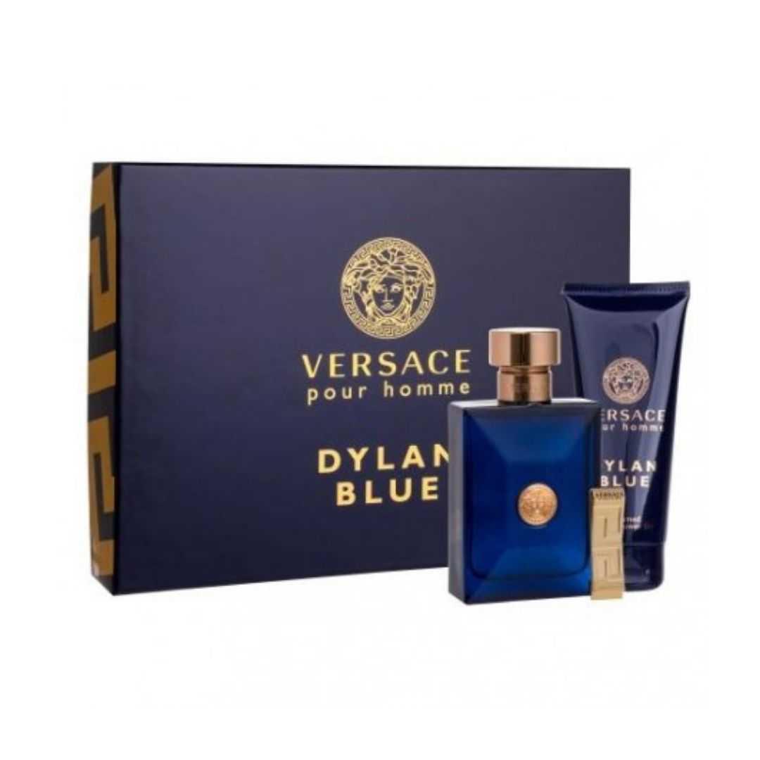 Versace Pour Homme Dylan Blue For Men Eau De Toilette 100ML Set
