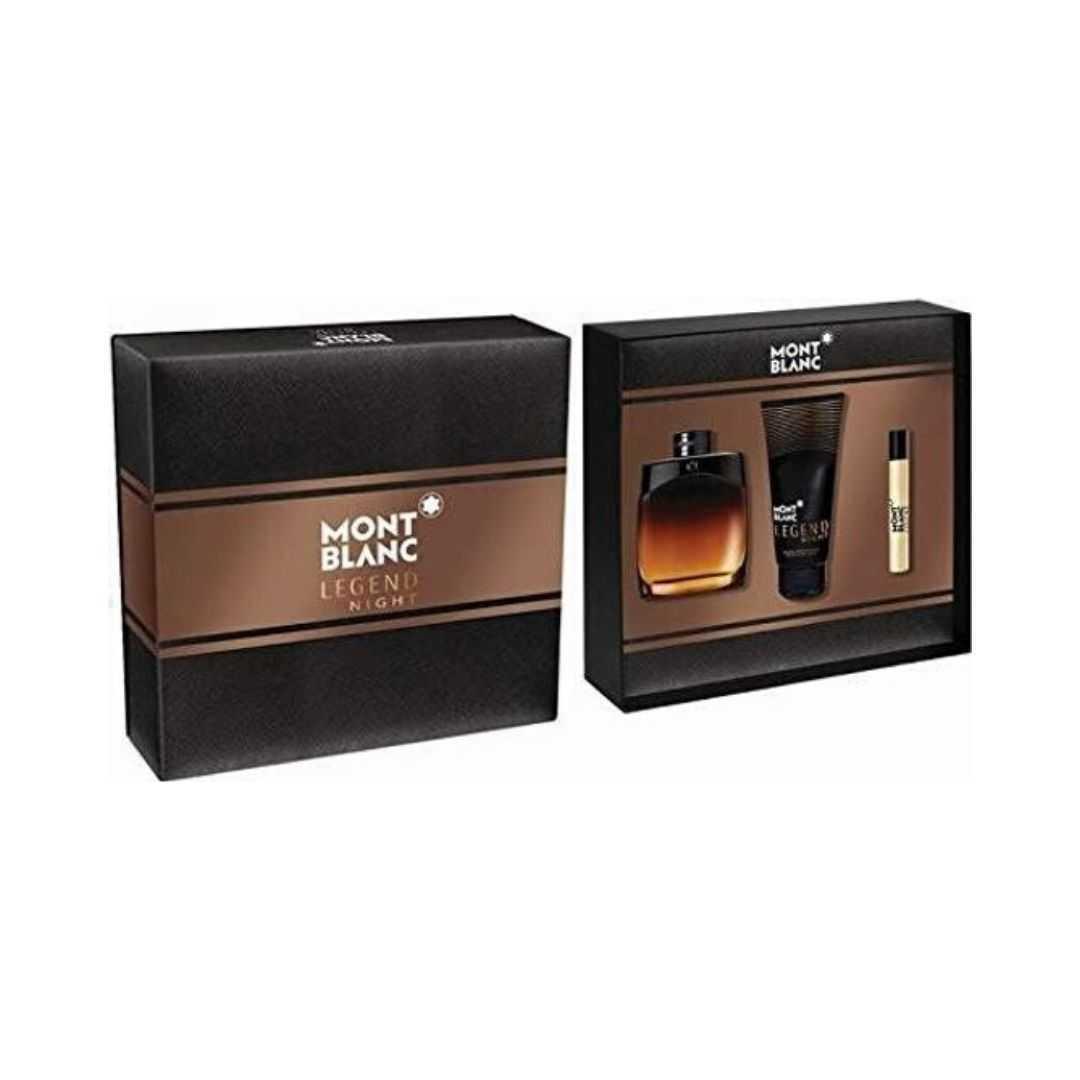 Mont Blanc Legend Night For Men Eau De Parfum 100ML Set